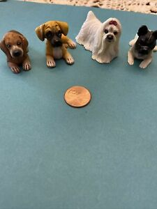 dollhouse miniature lot dogs