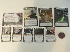 Star Wars Legion Luke Skywalker Commander Cards and Unit Cards - No Mini