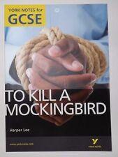 To Kill A Mockingbird, York Notes for GCSE, Harper, 2010