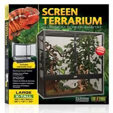 Screen Gaze Terrarium aus Aluminium für Reptilien - verschiedene Grö�Ÿen