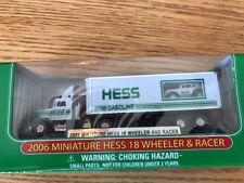 Miniature Hess 18 Wheeler Truck Racer