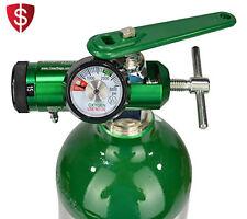 Oxygen Tank Regulator Wrench Medical Barb Outlet Cylinder Mini Gauge Flow
