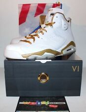 Air Jordan Retro 6 VI GMP Golden Moments Pack Gold Sneakers Men's Size 11 New