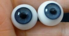 RE14mm GLASS DOLL EYES, GLASS EYES for ANTIQUE DOLL, Dollmaking