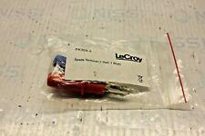 LeCroy PK30X-5 Banana Spade Terminals, 1-Red and 1-Blue