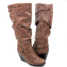 dfeb2b0878e Madden Girl High (3 in. and Up) Wedge Solid Boots for Women for sale ...
