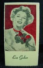 1950s Engrav-o-tints Peerless Weighing Scale Vending Machine Actress Eva Gabor