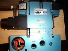 Mac Solenoid Air Valve Mod# 82A-EC-CKA-TM-DDAP-1DA, USED