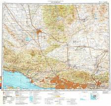 Russian Soviet Military Topographic Maps -  LOS ANGELES (USA), 1:500K, ed.1981