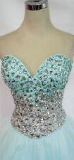 Glamour by TERANI Aqua Prom Party Dress 4 - $280 NWT