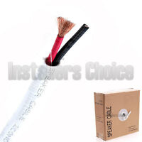 In Wall Audio Speaker Cable Wire CL2 16/2 AWG Gauge 50FT 100FT 250FT 500FT