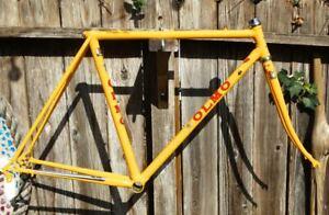 51cm Olmo San Remo vintage steel frame-set - Refinished + extras