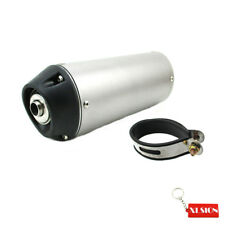 38mm Alloy Mute Silence Quiet Muffler Fits 125cc 140cc 150cc 160cc Pit Dirt Bike