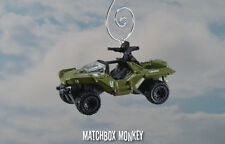 UNSC Halo Video Game Warthog Custom Christmas Ornament 1/64 M12 Truck Jeep