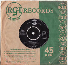 Elvis Presley 1st Edition 45 RPM Speed Vinyl Records