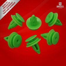 BCF5047FBA 10 Pieces Door Trim Panel Retainer 0089880978 Green for Mercedes