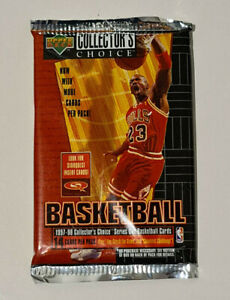 1997-98 Upper Deck MJ Collector's Choice Series 1 Single Pack 14 Cards -New/RARE