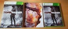 Tomb Raider (Microsoft Xbox 360, 2013) *Used* CIB