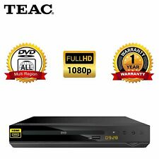 TEAC Full HD DVD Player with USB Multimedia Playback HDMI | DV450 | Multi-Region
