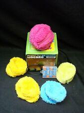 CCP Mini robot vacuum cleaner microfiber mop ball MOCORO Green Yellow Pink