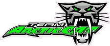"Team Arctic Cat Decal  7"" x 3"""