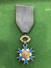Décoration Ordre National du Mérite 3 Décembre 1963 ONM