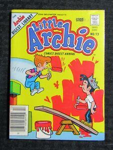 1983 LITTLE ARCHIE Digest Annual #13 FN- 5.5 Jughead
