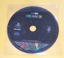 Euro Demo 33 Playstation DEMO PS1 VERSIONE ITALIANA