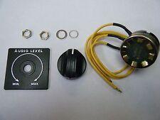"""L-Pad Speaker Volume Control Pot - 8-ohm 15W. LPAD,  2"""" Plate Hardware"""
