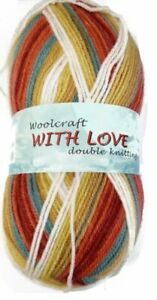 With Love 100g Baby Print DK by Woolcraft