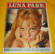 LUNA PARK 1963 n. 3 Mylène Demongeot, Corrado Pani, Gino Bramieri