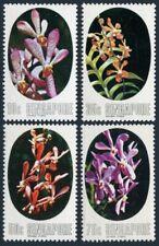 Singapore 247-250,MNH.Michel 250-253. Aranda orchids,1976.