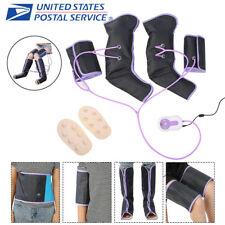 3In1 Air Circle Compression Massager Circulation Pressure Massage Leg+Foot+Arm