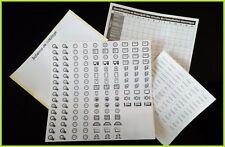 Lot Étiquette de repérage autocollante - tableau électrique