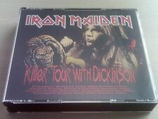 IRON MAIDEN - KILLER TOUR WITH DICKINSON - 4 CD BOX SET - LIVE 1981- *FREE POST*