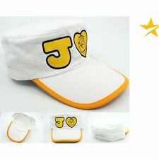 Anime JoJo's Bizarre Adventure Kujo Jotaro Cosplay White Hat Cup Custome New