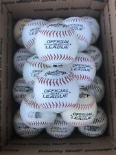 20 Rawlings OLB3 Official League Baseballs Synthetic Leather Cover FREE SHIPPING