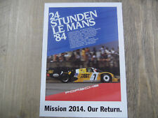 PORSCHE Postkarte Mission 2014 Our Return Nr. 7 SR318