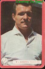 007 BRUNO RODZICK STADE DE REIMS FOOTBALL CARTE MIROIR SPRINT 1960's RARE