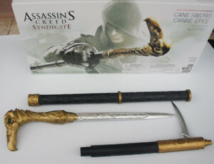 Assassin's Creed 6 Syndicate PVC Plastic Cane Sword Jacob Frye's Cosplay Toy