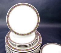 "Set of 4 Franciscan Constantine Salad Plates 8 1/4"" High Quality"