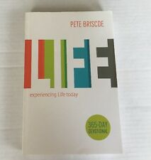 365 Day Devotional Experiencing Life Today Pete Briscoe Paperback Book