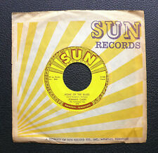 """7"""" Johnny Cash - Home Of The Blues - US SUN 279"""