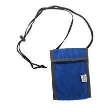 "Vintage Eagle Creek light weight travel wallet blue about 4x6"" bbx6"