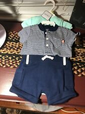 Carters Little Bitty Basics, Boys 3 Mo, 3 Pc Set