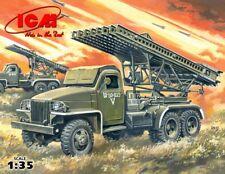 ICM - BM-13-16N Katyusha Launch Rocket System 1:35 Modell-Bausatz Studebaker kit