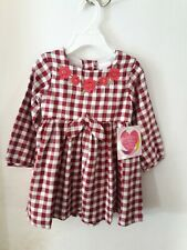 Nwt Girl's Beautiful Embroidered Dress Size 3T