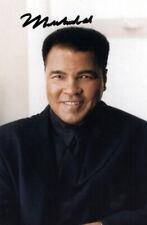 Muhammad Ali Authentic Autographed Signed 3.5x5.5 Postcard Beckett COA A87749