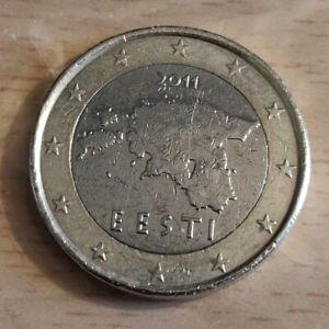 ESTONIE 1 euro 2011