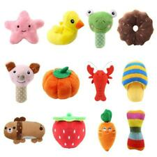 12 Pack Pet Dog Bundle Soft Chew Toy Puppy Doggy Plush Sound Squeaker Toys